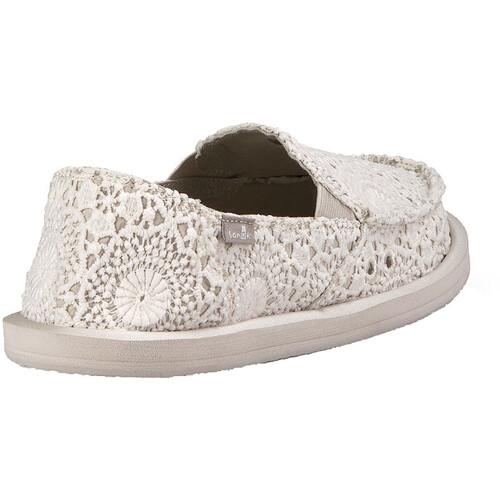 Prix Pas Cher France Sanük Donna Crochet - Chaussures Femme - blanc sur campz.fr ! Vente Explorer Footlocker Finishline Ordre De Vente commercialisable oVpY1wyw